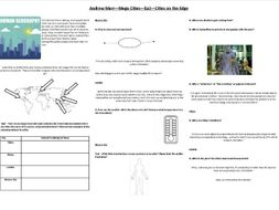 Andrew Marr - Mega Cities - Ep2 -Cities on the Edge - Worksheet to support the BBC documentary