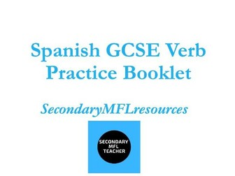 GCSE Spanish Verb Workbook: Key Tenses with Targeted Practice & Answers