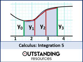 Integration 5  - the Trapezium Rule (+ worksheet)