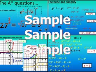 Exponentials - Chapter 3 - International Baccalaureate - Standard Level