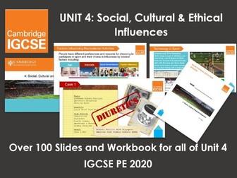 Complete Unit 4: Social, Cultural & Ethical Influences - IGCSE Physical Education