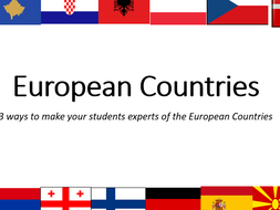 Master The European Countries - Quizzes and Games (save 43%,)