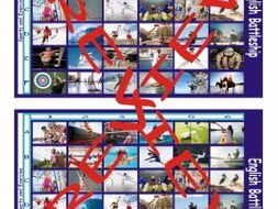 Sports and Exercise Battleship Board Game