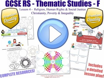 Poverty, Inequality & Christianity  [GCSE RS - Religion, Human Rights & Social Justice - L4/10]  F