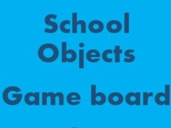 School Objects Game board for Smartboard