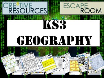 KS3 Geography Escape room