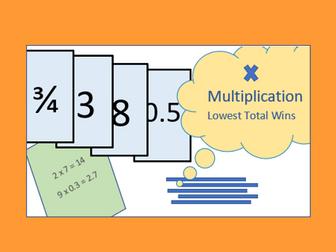 Number Skills Card Game