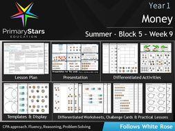 YEAR 1 - Money - WEEK 9 - Block 5 - Summer - White Rose Differentiated Pack