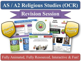 'Ancient Philosophical Influences' (Plato & Aristotle) Revision Session for AS-Level OCR RS (New Sp)