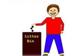 Put That Little Bit Of Litter In The Bin - Preschool Song, Video & Sheet Music