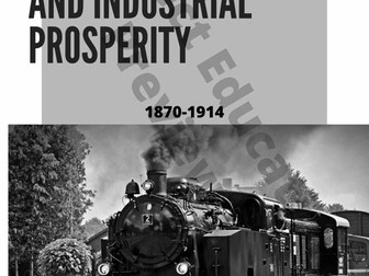 Industrial Prosperity History Poster