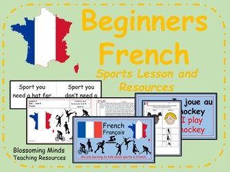 french lesson bundle ks2 hobbies and interests by blossomingminds teaching resources. Black Bedroom Furniture Sets. Home Design Ideas