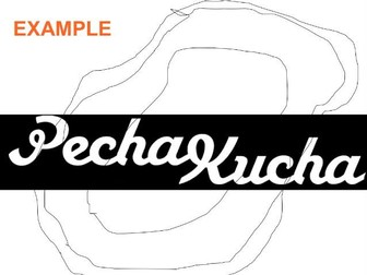 Pecha Kucha instructions for A level artists group critique