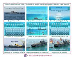 Beach-Things---Activities-Spanish-PowerPoint-Battleship-Game.pptx