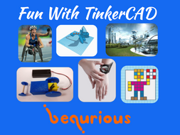 Fun with TinkerCAD (8x1hr Sessions)