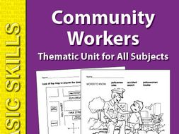 Community Helpers: Thematic Skill-Builder Unit for All Subjects
