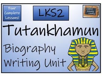 LKS2 History - Tutankhamun Biography Writing Activity