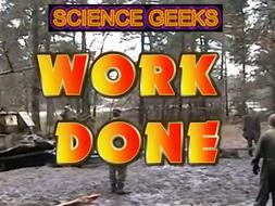 WORK DONE - THE PRESENTATION!