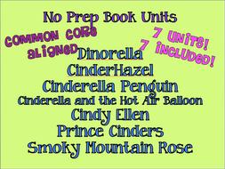 Seven FUN CINDERELLA No Prep Units