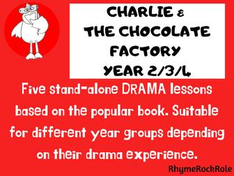 Charlie & Chocolate Factory, drama, Y2-4
