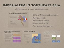Imperialism In Southeast Asia PowerPoint and Keynote Presentations