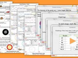 Year 6 Circles Summer Block 3 Lesson Step 4 Maths Lesson Pack
