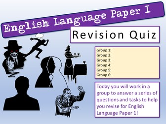 English End of Term Quiz