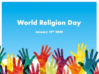 World Religion Day assembly
