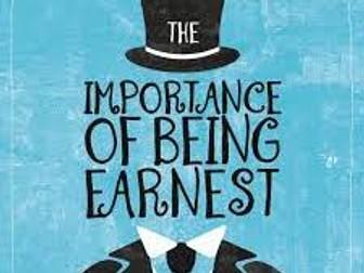 """""""The Importance of Being Earnest"""" (Oscar Wilde) - Victorian 'Earnestness'"""