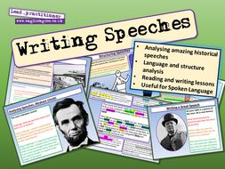 Writing Speeches
