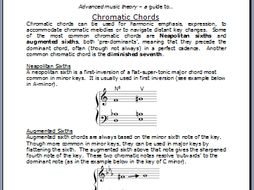 A guide to chromatic chords