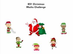 KS1 Christmas Maths Booklet
