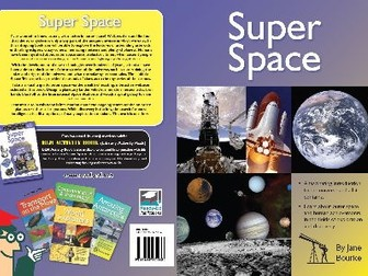 Library Activity Pack: Super Space Resource Book
