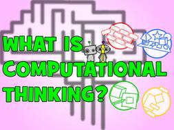 Computational Thinking Poster: What is Computational Thinking?