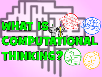 Computational Thinking Poster: What is Computational Thinking?