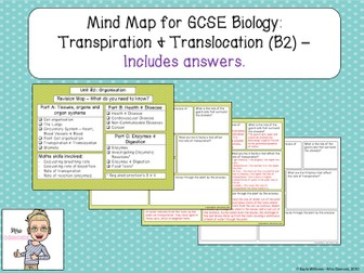 GCSE Biology Revision: Transpiration & Translocation