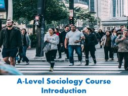 Lesson 0. A Level Sociology Intro