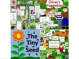 Growing plants bundle plus Garden Centre role play