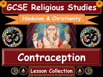 Contraception - Hinduism & Christianity (GCSE Lesson Pack)