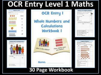 OCR Entry Level 1 Maths - Numbers to 20