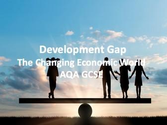 The Changing Economic World - Development Gap