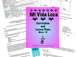 Mi Vida Loca Lesson Plans, Episodes  1 and 2