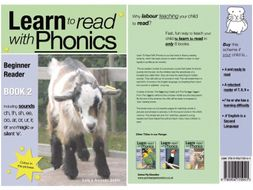 Learn to Read Rapidly with Phonics: Beginner Reader Book 2. A fun, colour in phonic reading scheme