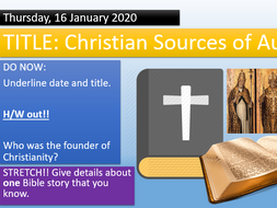 KS3 - What is the Bible? Christianity
