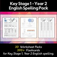 key stage 1 year 2 english spelling and phonics pack worksheets flashcards by. Black Bedroom Furniture Sets. Home Design Ideas
