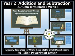 Addition and Subtraction: Year 2 - Autumn Term
