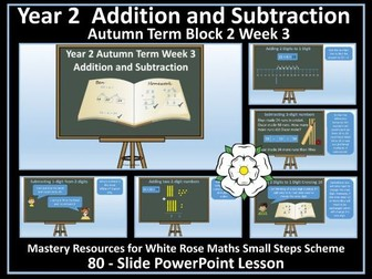 Addition and Subtraction: Year 2 - Autumn Term - PowerPoint Lesson