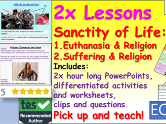2x Sanctity of Life Lessons