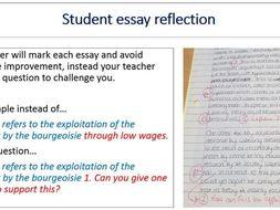 dedicated teacher essay