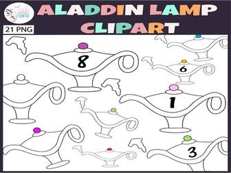 Aladdin Lamp Clipart